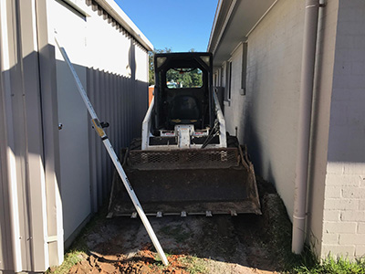 tight access earthmoving brisbane