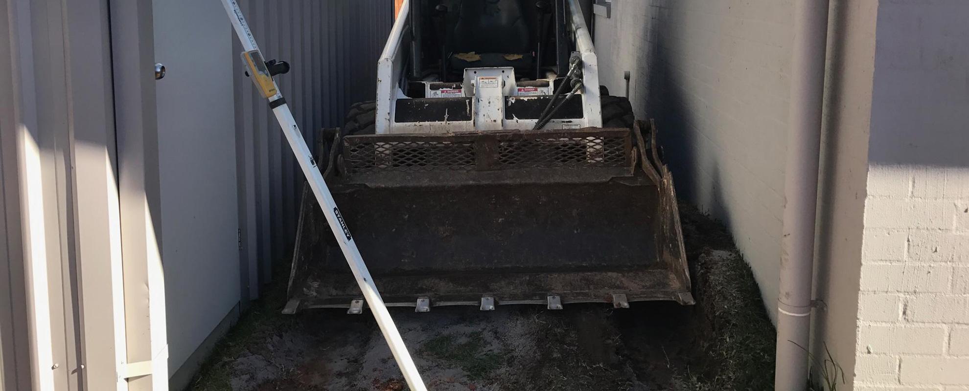 Tight-access machinery brisbane